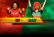 Bangladesh vs West Indies, 2nd T20I