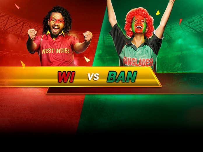 Bangladesh vs West Indies, 2nd T20I