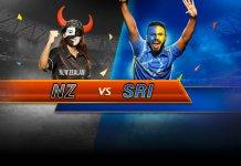 New Zealand vs Sri Lanka, Only T20I