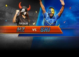 New Zealand vs Sri Lanka, 1st ODI