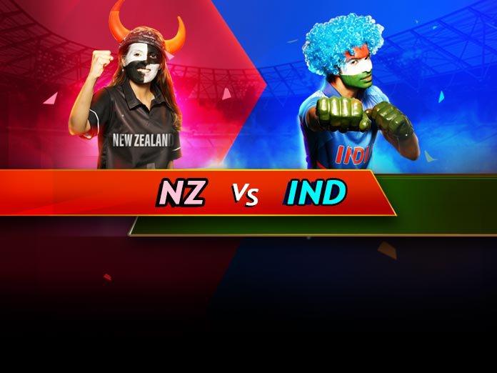 New Zealand vs India, 4th ODI