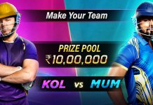 Mumbai vs Kolkata Preview 05 April IPL 2019
