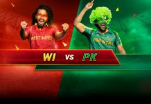 ICC World Cup West Indies vs Pakistan