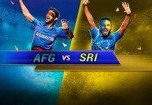 Afghanistan vs Sri Lanka world cup 2019