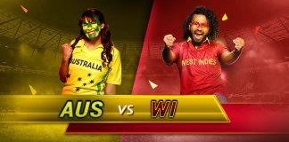 Australia vs West Indies ICC world cup 2019