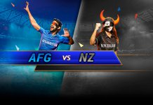 Afghanistan vs New Zealand world cup 2019