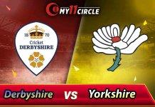 Derbyshire vs Yorkshire North Group Match