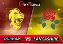 Lancashire vs Durham North Group Match
