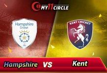 Hampshire vs Kent, South Group
