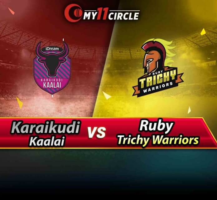 Karaikudi Kaalai vs Ruby Trichy Warriors