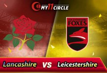 Leicestershire vs Lancashire North Group Match