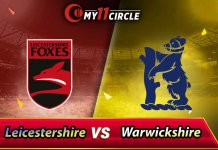 Warwickshire vs Leicestershire North Group Match