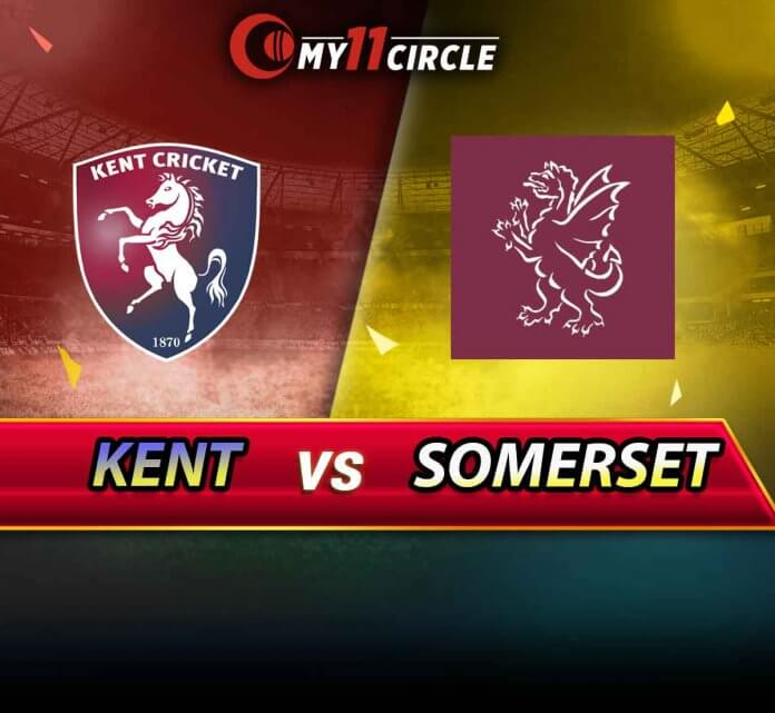 Kent vs Somerset South Group Match(20-July) Preview