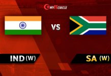India Women vs South Africa Women, 1st T20I
