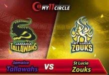 Jamaica Tallawahs vs St Lucia Zouks CPL 2019