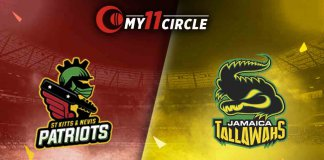 St Kitts and Nevis Patriots vs Jamaica Tallawahs CPL 2019