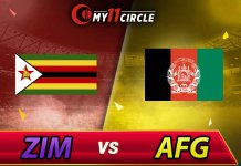 Afghanistan vs Zimbabwe Bangladesh Tri Series 2019