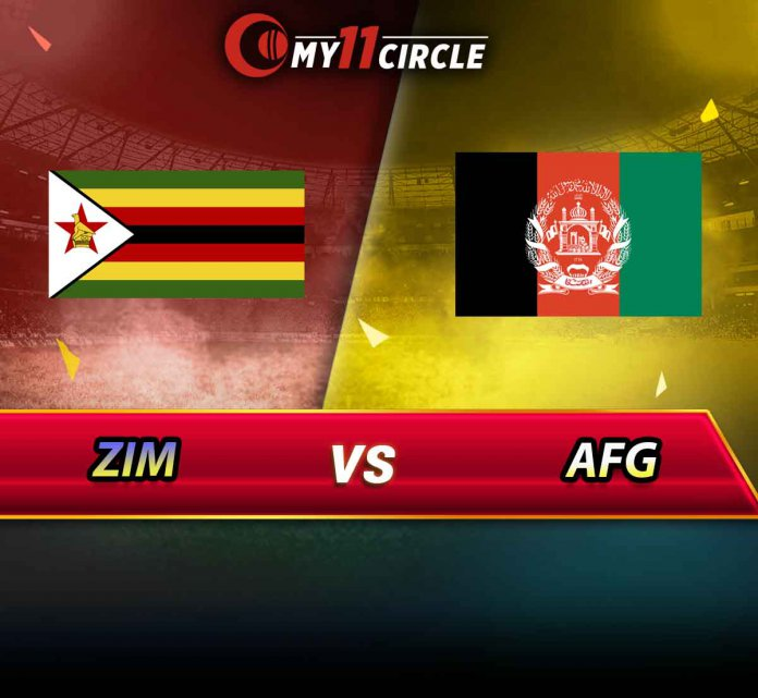Zimbabwe vs Afghanistan, 5th T20I
