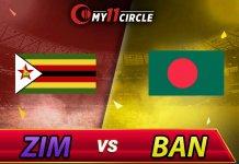 Bangladesh vs Zimbabwe 1st T20I Bangladesh Tri Series 2019 Match Prediction