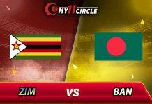 Bangladesh vs Zimbabwe, 4th T20I