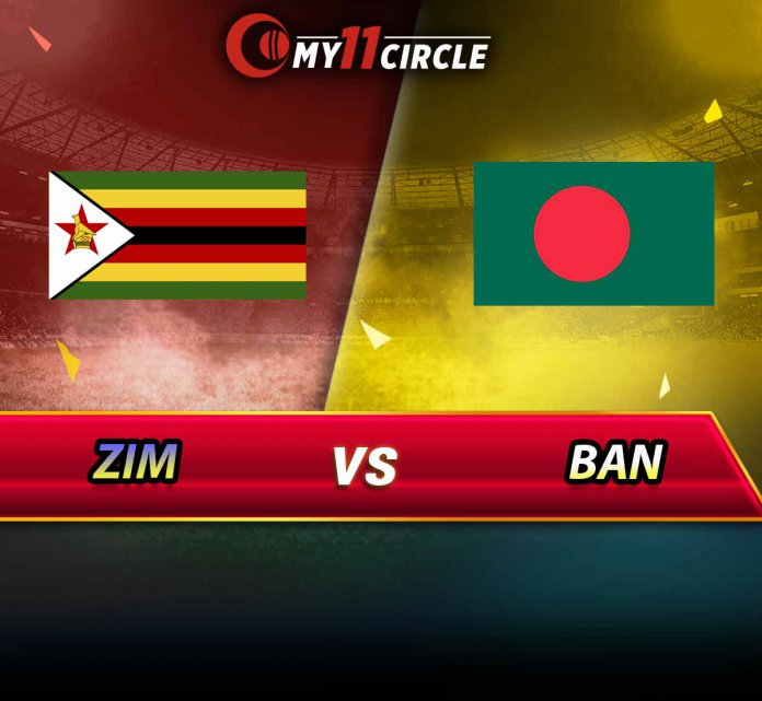 Bangladesh vs Zimbabwe, 4th T20I