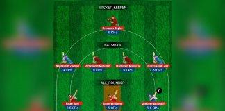 Zimbabwe vs Afghanistan, 5th T20I