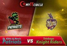 St Kitts and Nevis Patriots vs Trinbago Knight Riders CPL 2019