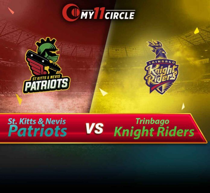 St Kitts and Nevis Patriots vs Trinbago Knight Riders CPL 2019