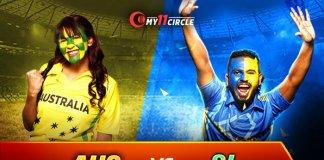 Australia vs Sri Lanka, 1st T20I