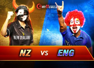 New Zealand vs England, 1st T20I