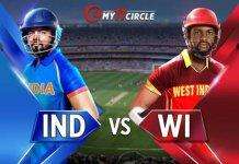 India vs West Indies, 1st ODI Match
