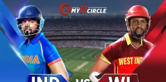 India vs West Indies, 1st ODI Match
