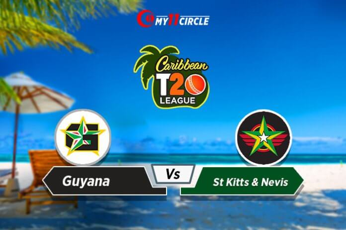 Guyana vs St Kitts and Nevis