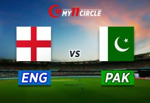 England vs Pakistan Test Match