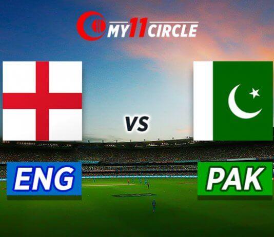 England vs Pakistan Test Match