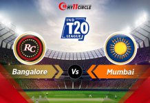 Bangalore-vs-Mumbai Indian t20 league