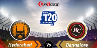 Hyderabad vs Bangalore Indian T20 League