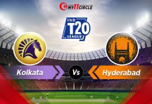 Kolkata-vs-Hyderabad Indian T20 League