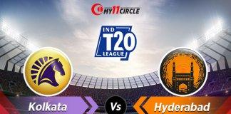 Kolkata-vs-Hyderabad Indian T20 League