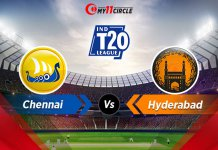 Chennai-vs-Hyderabad Indian T20 League