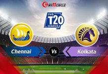 Chennai-vs-Kolkata t20 league