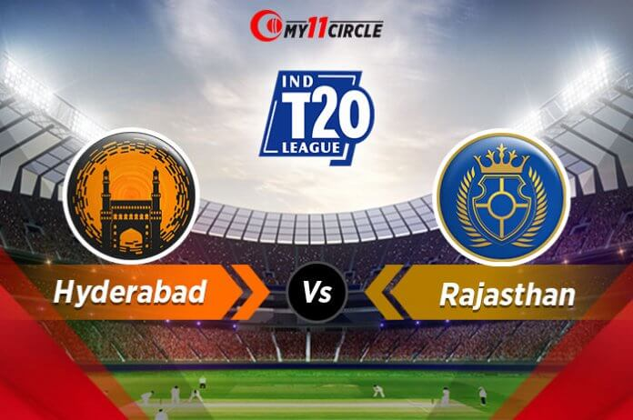 Hyderabad-vs-Rajasthan indian t20 league