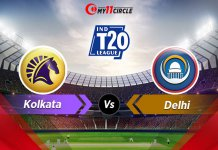 Kolkata-vs-Delhi t20 league