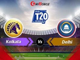 Kolkata-vs-Delhi t20 league