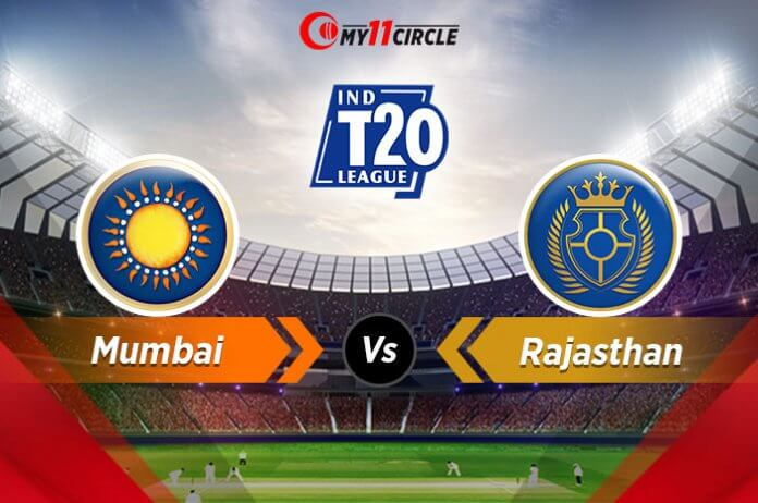 Mumbai-vs-Rajasthan t20 league