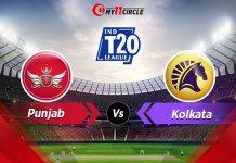 Punjab-vs-Kolkata indian t20 league