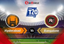 Hyderabad-vs-Bangalore t20 league