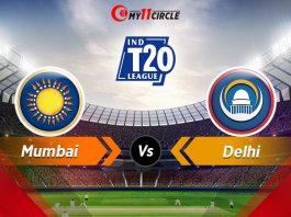 Mumbai vs Delhi, Indian T20 League