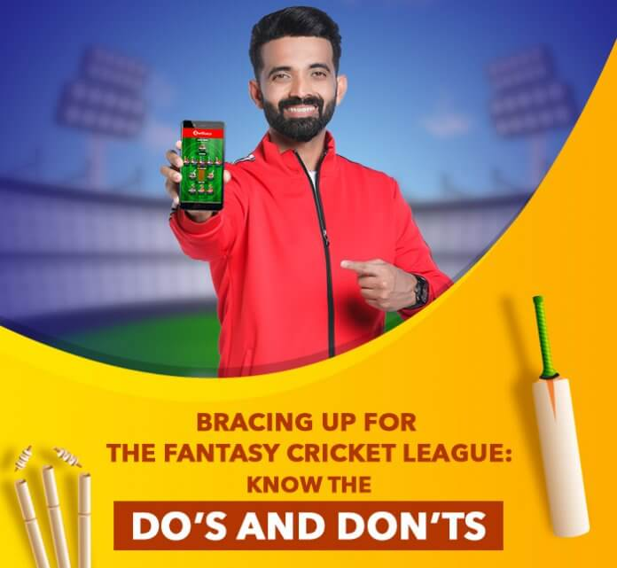 Bracing up for the Fantasy Cricket League: Know the Do's and Don'ts
