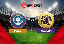 Delhi vs Kolkata Match Prediction